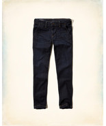 NEW Men's Hollister by Abercrombie & Fitch Skinny Jeans Flex Dark Wash T... - $19.95