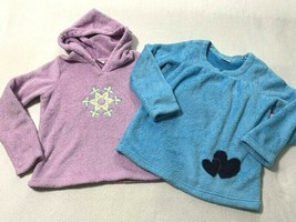 Hanna Andersson 140 150 10 12 Marshmallow Sweater Heart Snowflake Blue P... - $9.99