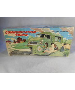 VINTAGE MARX TIN TOY Army Communication TRUCK Original BOX   BATTERY OP ... - $356.40