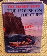 """Hardy Boys """"The House on the Cliff"""" in RARE Dust Jacket (1959 Hardcover) - $439.41"""