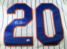 PETE ALONSO / NEW YORK METS / AUTOGRAPHED METS PRO STYLE BASEBALL JERSEY / COA image 3