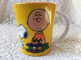 Snoopy & Charlie Peanuts Gang Coffee Cup Collectible Snoopy Charlie Brow... - $14.98