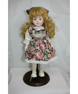 """15"""" Porcelain Doll ~ Trademarked Brinn's ~ No Name ~ No Papers ~ Needs a... - $9.11"""