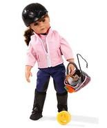 "Gotz Hannah Loves Horseback Riding 19.5"" All Vinyl Poseable Doll with Br... - $126.34"