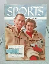 Sports Illustrated January 30 1956 Jenkins Albright Skating Champions  - $12.86