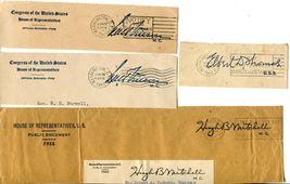 USA Senate House of Representatives Free Postage Cover Envelope Cuts Washington image 5