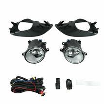 Fog Lights Lamps W/Wiring Switch Clear Lens Fit 2007-2012 Toyota Yaris Sedan 4DR - $34.95