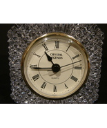 "Crystal Legends By Godinger ""Jubilee"" Quartz Desk Clock ( 24% Lead Crystal) - $15.99"