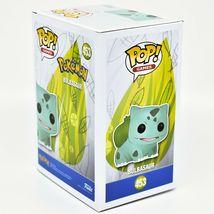 Funko Pop! Pokemon Metallic Silver Bulbasaur #453 25 Year Anniversary Figure image 4
