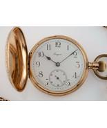 Longines Grand Prix 14k Yellow Gold Full Hunter Pocket Watch Size 13S - $2,574.08