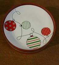 Palms Casino Christmas Ornament Design Plates Christmas Holiday Plates S... - $22.28