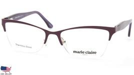 NEW MARIE CLAIRE 6207 GRAPE EYEGLASSES GLASSES METAL FRAME 53-17-140 B35mm - $67.61