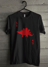 Stegosaurus of Diamonds - Custom Men's T-Shirt (1229) - $19.13+