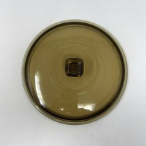 Vintage Anchor Hocking Amber Replacement Lid 1.5 QT Fits #1037 Casserole... - $13.86