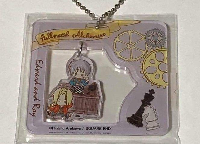 Fullmetal Alchemist Sanrio Acrylic Keychain Strap Edward Elric Roy Mustang F/S