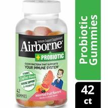 Airborne Vitamin C Plus Probiotic Gummies, Assorted Fruit, 750mg, 42 CT.. - $29.69