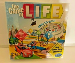 Hasbro C3893 The Game of Life New Sealed Family Instant Setup Easy Play - $19.79
