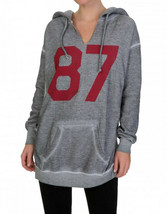 Wildfox Womens Eighty Seven WHB5849A6 Hoodie Relaxed HTHR Grey Size S - $85.07