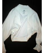 NWT Womens Adidas shrug ivory white Medium jacket M - $29.99