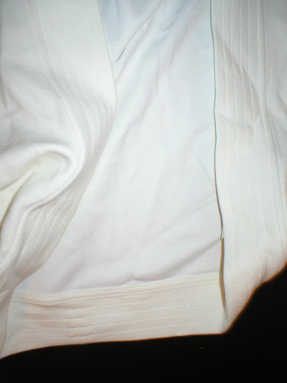 NWT Womens Adidas shrug ivory white Medium jacket M image 2