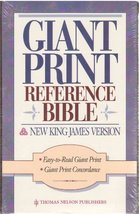 Holy Bible: Giant Print Reference Edition, New King James Version, No. 4... - $34.65