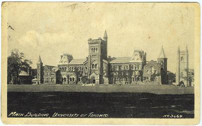Vintage Postcard - University of Toronto Canada