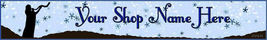 Web Banner Blowing the Shofar Custom Designed  63a - $7.00