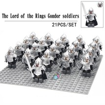 21pcs/set Gondor Soldiers Archers with Armor The Lord of the Rings Minifigures - $34.89