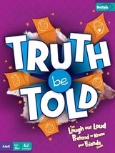 Truth be Told Adult Game, 3 to 8 Players - New / Sealed - $33.93