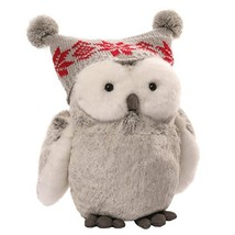"GUND Christmas Twinkles Snow Owl Plush, 9""/Medium - $22.56"