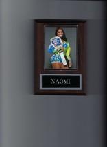 Naomi Plaque Wrestling Wwe With Belt - $2.37