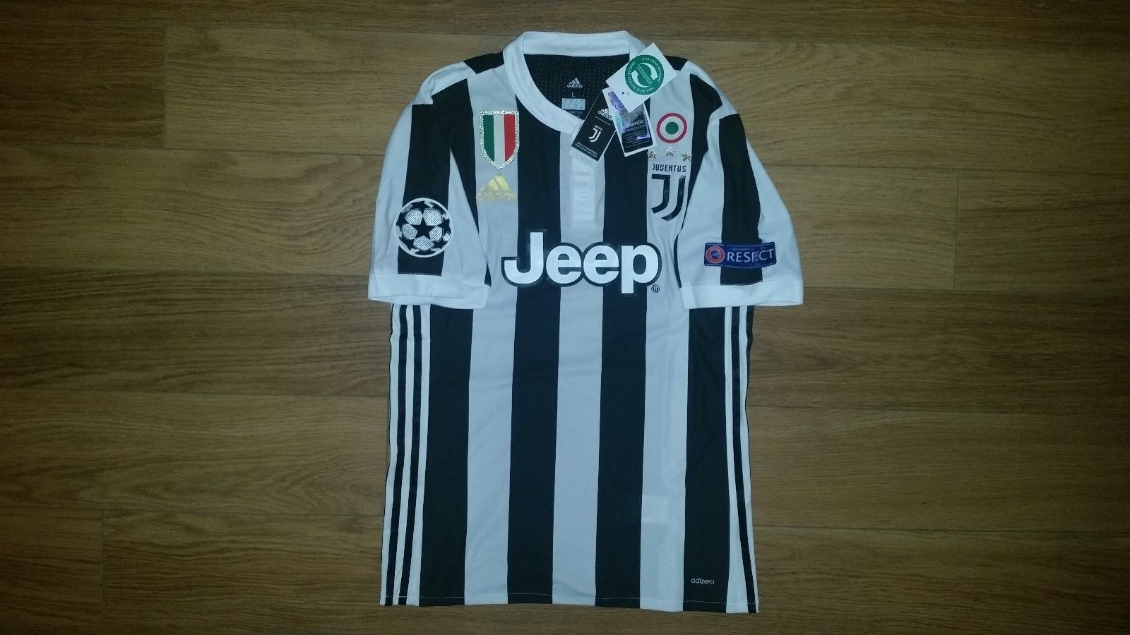 af2f1b8830a Paulo Dybala Juventus Home Jersey Champions League 17 18 Player Version  Size L