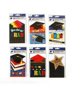 "6Pcs 6"" X 4"" Die Cut Graduation Invitation Card With Envelopes, 4 Design... - $73.41"