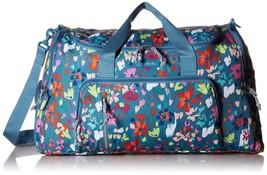 Vera Bradley Lighten Up Ultimate Gym Bag, Polyester, Superbloom Sketch - $204.29