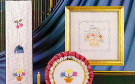 CANDLEWICKING EMBROIDERY LEISURE ARTS 247 13 PROJECTS image 2