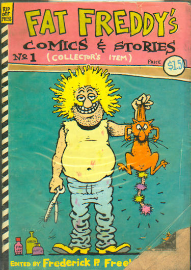 Fat Freddy's Comics and Stories #1 (1983)