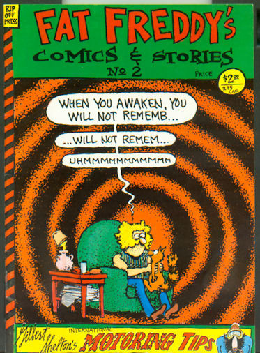 Fat Freddy's Comics and Stories #2 (1986)