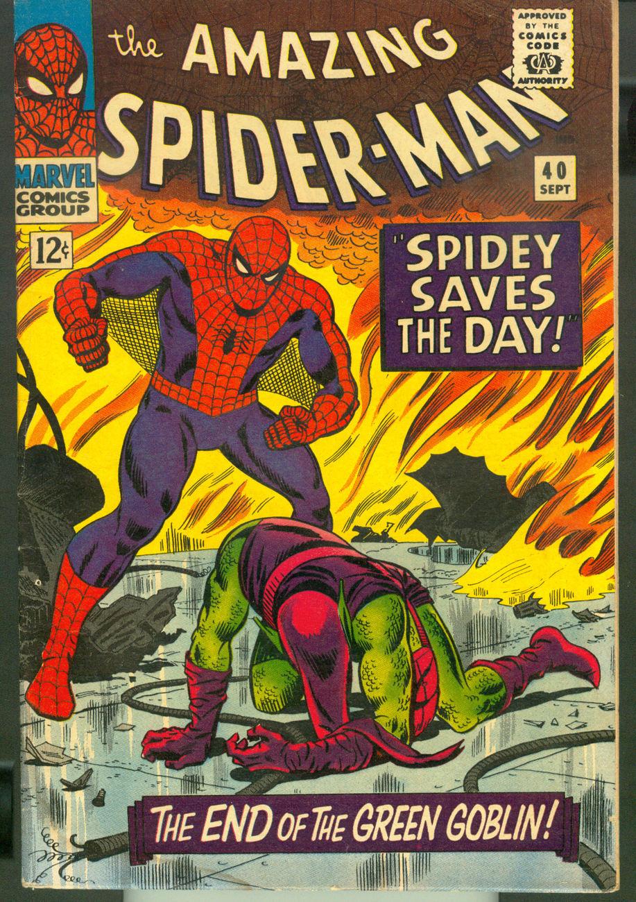 Amazing Spider-Man #40 (Green Goblin)