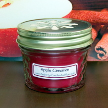 Apple Cinnamon PURE SOY 4 oz. Jelly Jar Candle  - $5.25