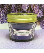 Herbal Lavender and Lemongrass PURE SOY 4 oz. Jelly Jar Cand - $5.25