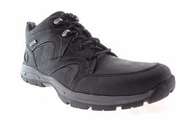 ROCKPORT ROAD&TRAIL WP MDGD MEN'S BLACK NUBUCK WATERPROOF BOOTS M79561 - $90.19