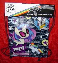 My Little Pony Brony Drawstring Sling Back Pack Hasbro 2012 G4 - $15.00