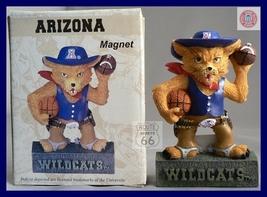 Arizona Wildcats Football Basketball 3 D Mascot Magnet - $10.34