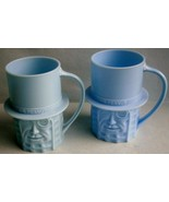 Pair of Mr. Peanut Promotional Mugs made in USA, vintage - $19.00