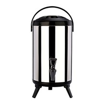 Stainless Steel Insulated Barrel Double Walled 1.59 Gallon Beverage Disp... - $1.735,20 MXN