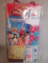 Disney High School Musical 3pr girls panties SIZE 6 NEW - $4.94