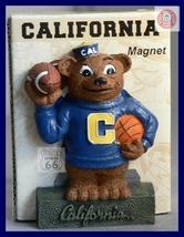 California Golden Bears Football Basketball 3 D Magnet  - $8.10