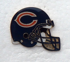 CHICAGO BEARS free shipping METAL HELMET RARE NFL FOOTBALL HAT CAP JERSE... - $10.44