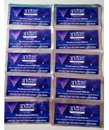 Crest 3D White LUXE Whitestrips Professional Whitening Effects 10pouch 2... - $23.88