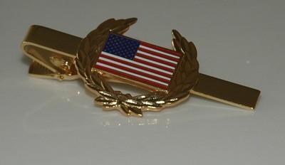 Primary image for United States Flag Tie Clip